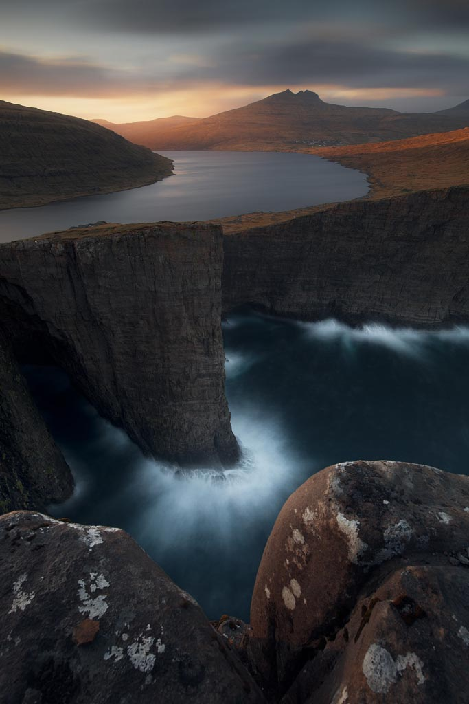 Faroe Islands Leitisvatn With NiSi 10 Stops ND Filter