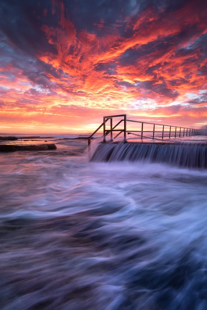 Cronulla Rock Pools Taken in Sydney, Australia With NiSi S5 + ND (3 Stops) + Medium GND (3 Stops) + Enhanced Landscape polarizer