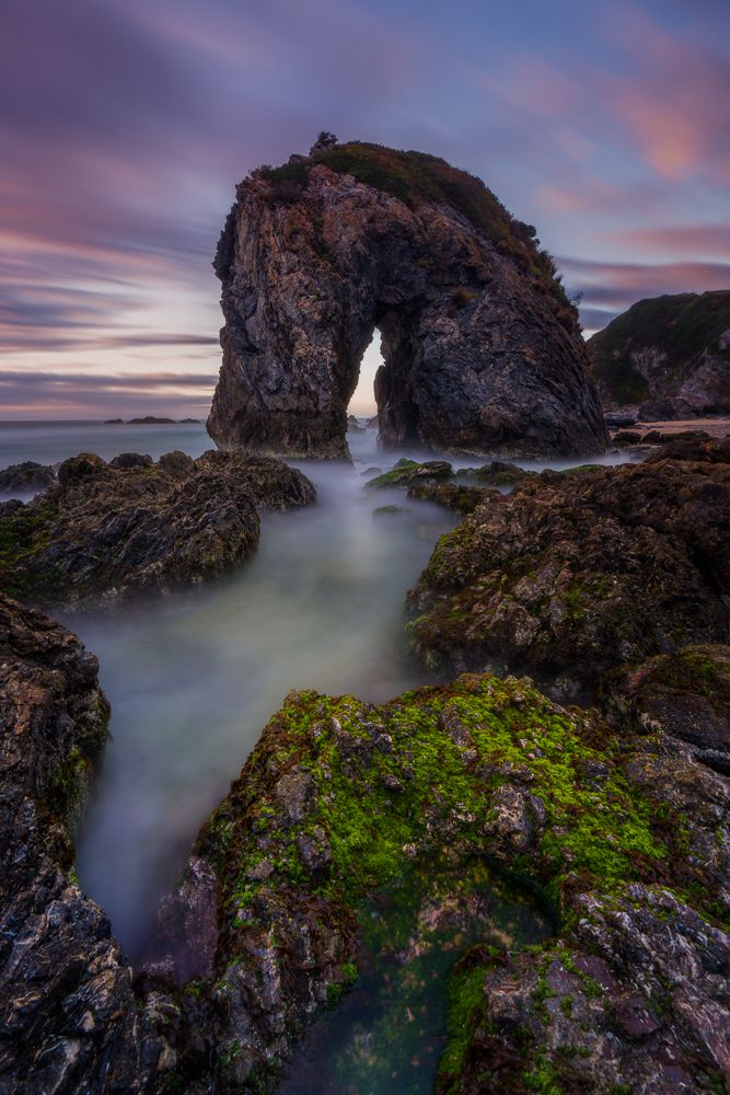 Horse Head Rock Taken in NSW South Coast, Australia With NiSi V6 + ND (6 Stops) + Soft GND (4 Stops) + Enhanced Landscape polarizer