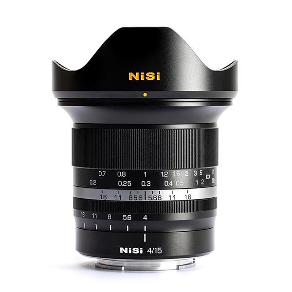 NiSi 15mm lens